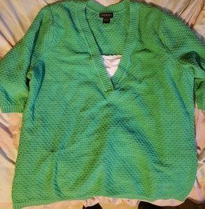 ●Lane Bryant 3/4 sleeve sweater ●